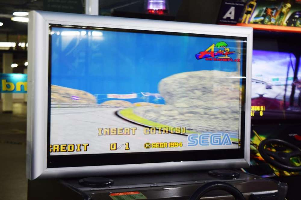 Daytona Usa Maquinitas <strong>video</strong> Juegos Simulador