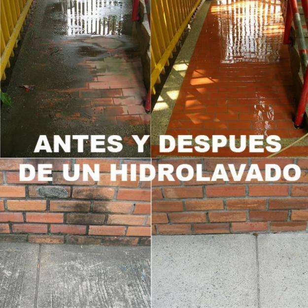 HIDROLAVADO DE SUPERFICIES EN PROMOCION