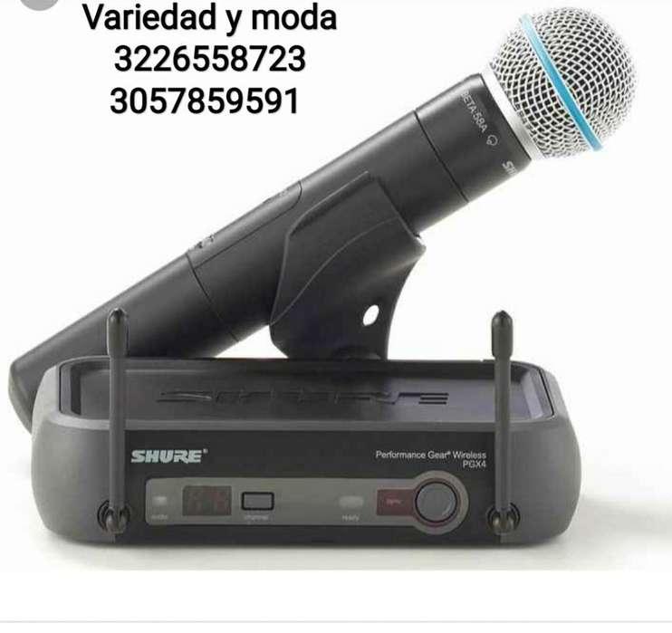 Micrófono Inalambrico Shure Pgx Beta 58