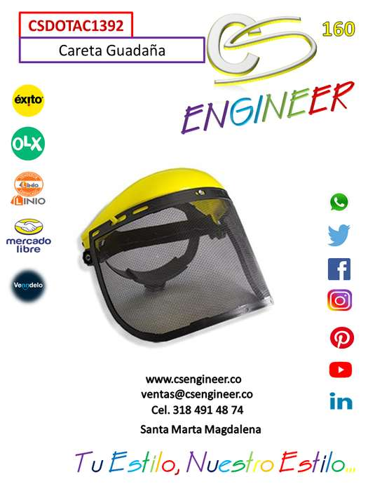 CS ENGINEER - Careta Guadaña