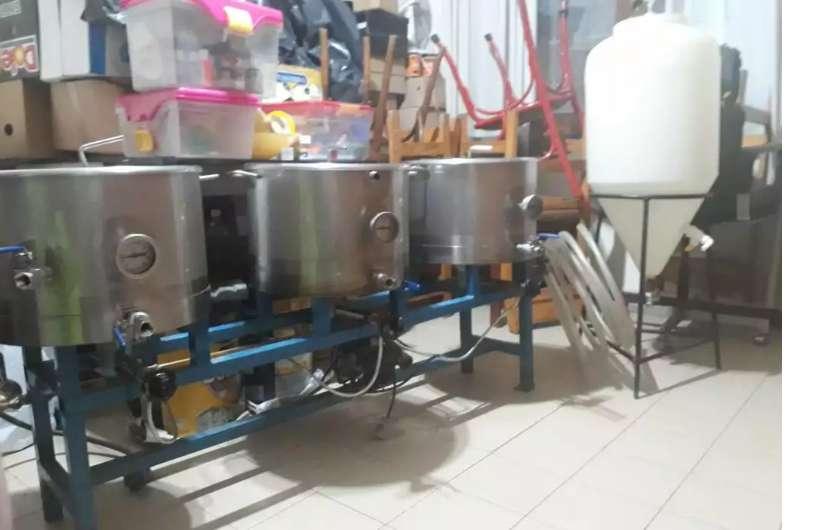 Equipo de acero inoxidable Cerveza Artesanal