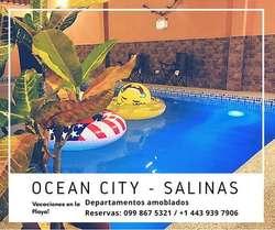 DEPARTAMENTOS VACACIONALES EN SALINAS - CHIPIPE