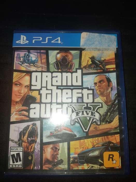 Juegos Playstation 4 Gta5 Y Fifa 18