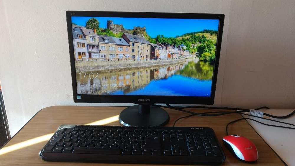 <strong>monitor</strong> Led Philips 19 Hd, Vga, Nuevo