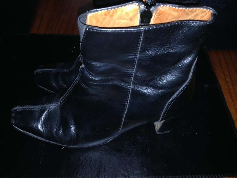 Botas Negras Cortas 37