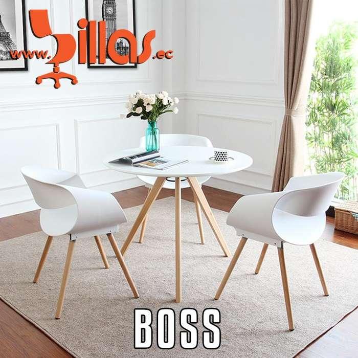 silla minimalista boss