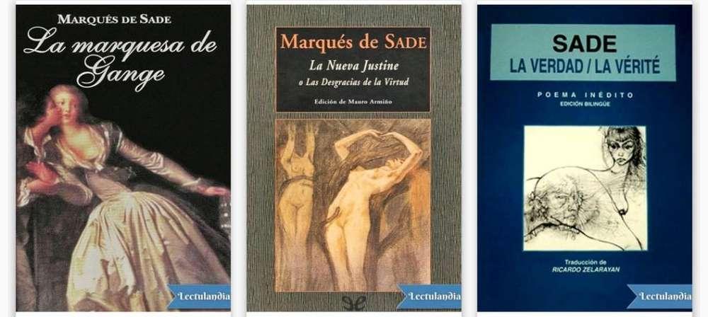 Pack Del Marquez de Sade (12libros)