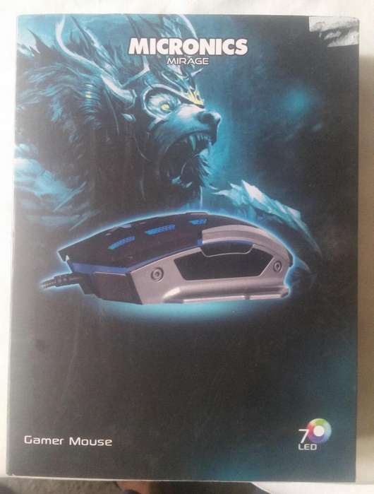 MOUSE MICRONICS LUMIERE GAMING