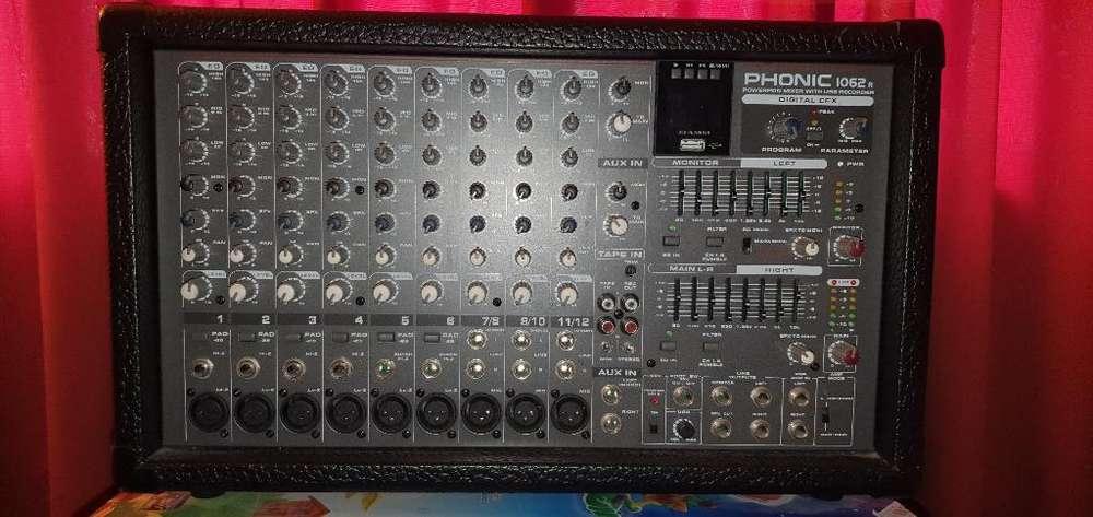 Powerpood Phonic Original Amplificador