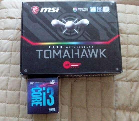 combo gaming board proceador core i3 de 3.6 octava generación ram 8 gb ddr4 disco solido 120 gb