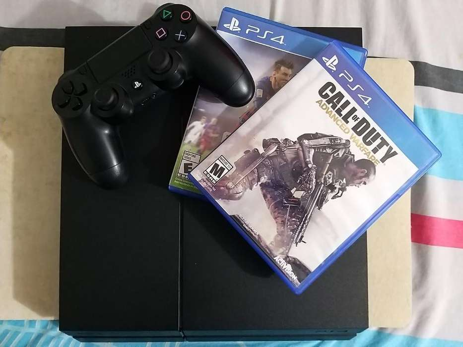 Ps4 con Seis Juegos Negociable