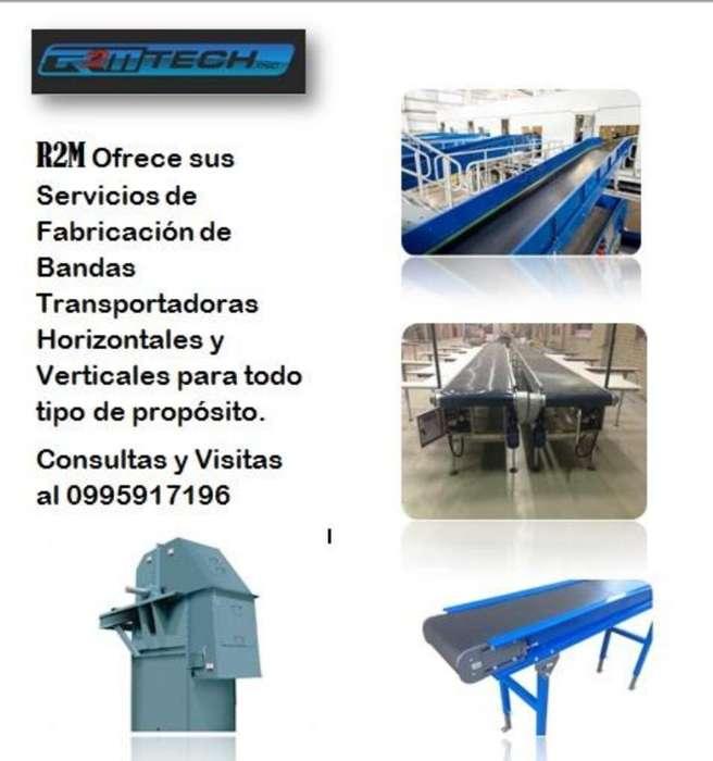 Fabricación de Bandas Transportadoras