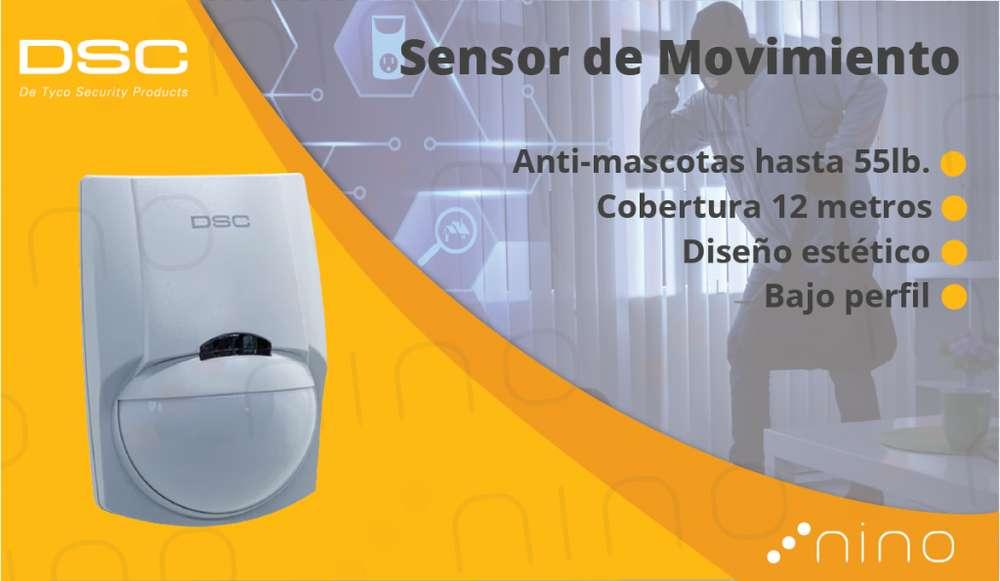 Sensor de movimiento para alarma