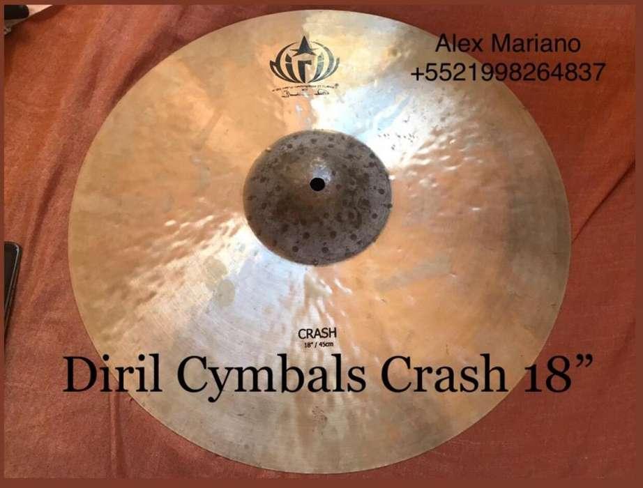 Platillo Diril Cymbals Crash18