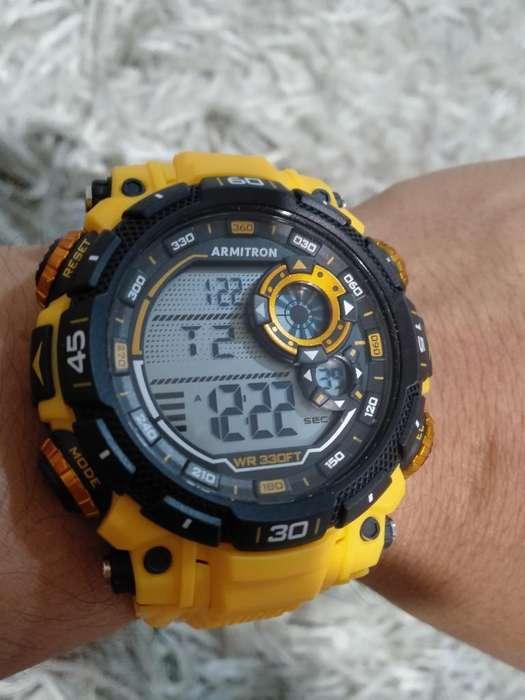 Reloj Armiteon Sport Amarillo
