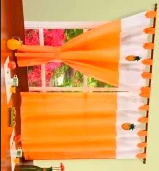 <strong>cortinas</strong> para Cocina