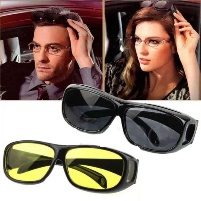 Gafas con Lente Hd 2x1