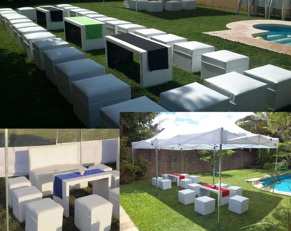 Alquiler de Living gazebos inflables zona Quilmes