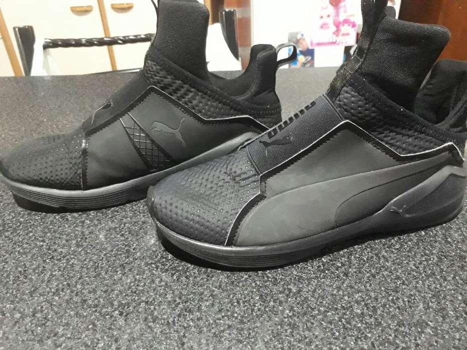 Zapatillas Pumas Practicamente Nuevas