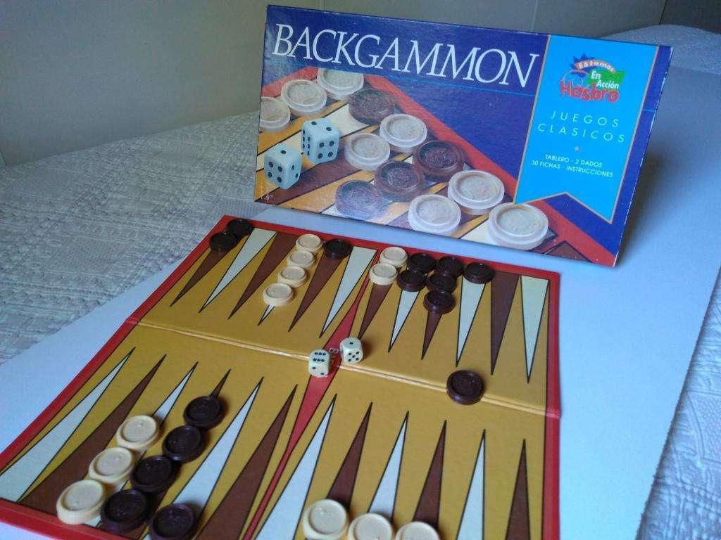 Juego de Mesa Usado: Backgammon