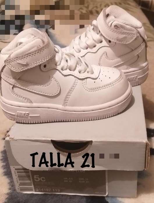 Zapatillas Originales Nike Talla 21