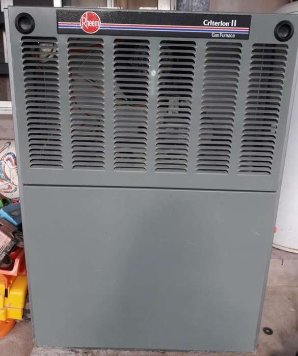 Vendo <strong>calefactor</strong> Central Rheem 32000kcalh