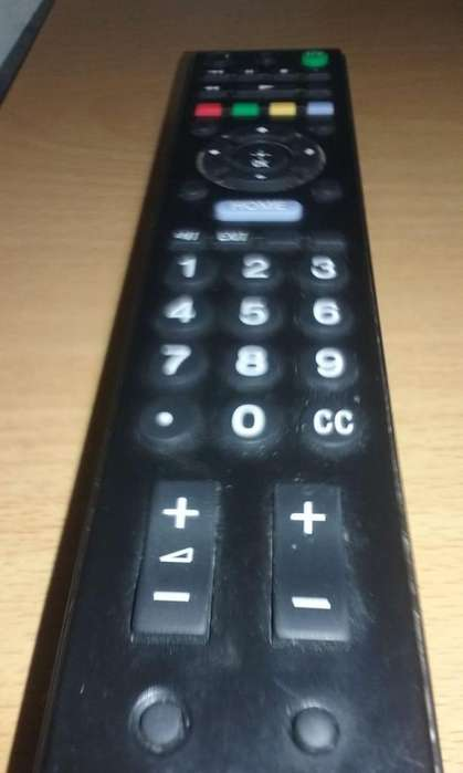 CONTROL REMOTO <strong>televisor</strong> SONY LCD