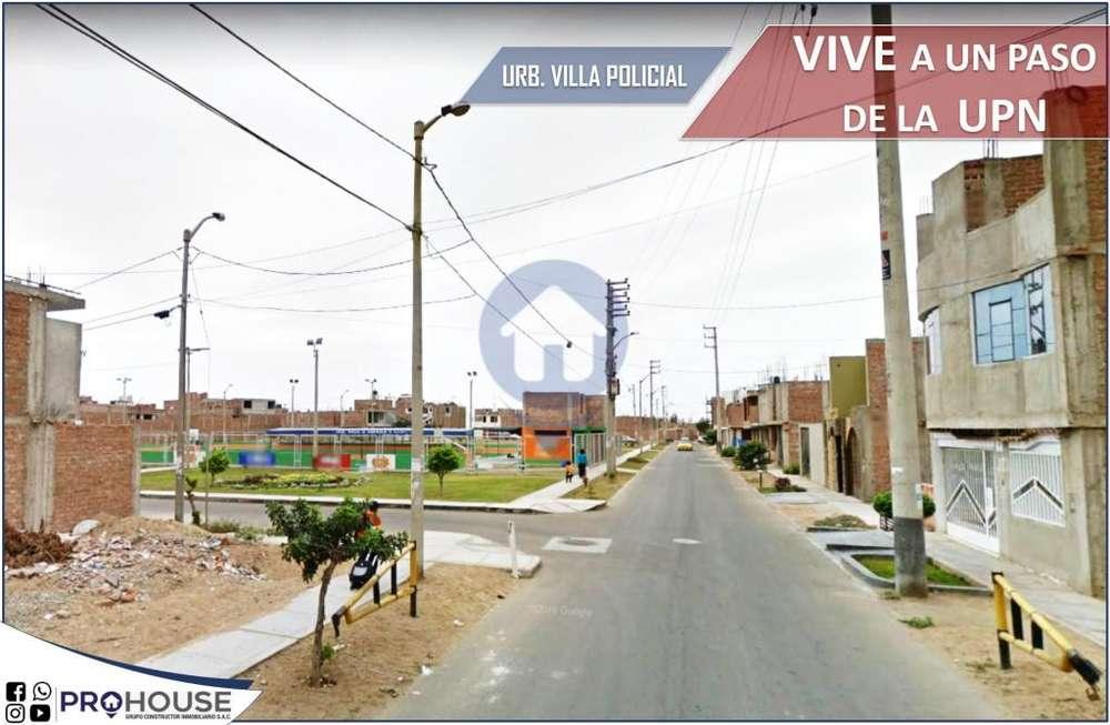[ REMATO ]: CASA URB. VILLA POLICIAL-SAN ISIDRO AC. 121 m2 CERCA UPN