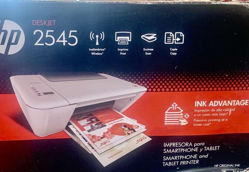 <strong>impresora</strong> Hp2545