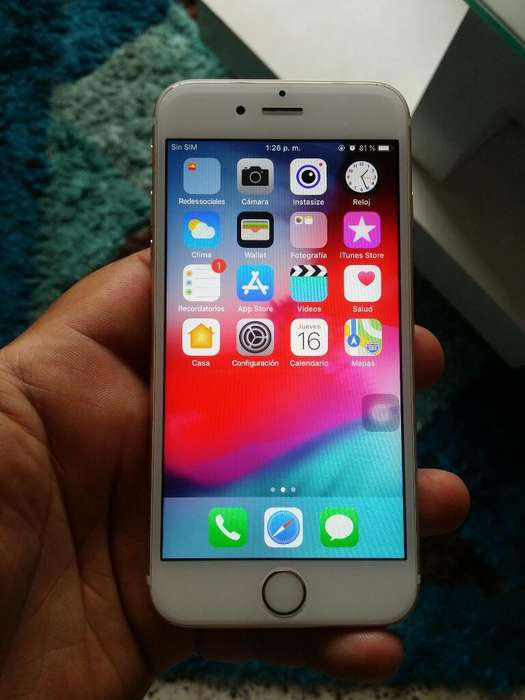 iPhone 6s de 16gb sin Huella