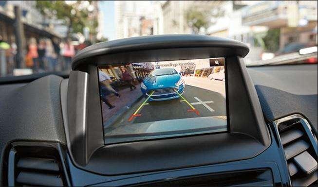 Instalación cámara de reversa <strong>ford</strong> Fiesta pantalla original