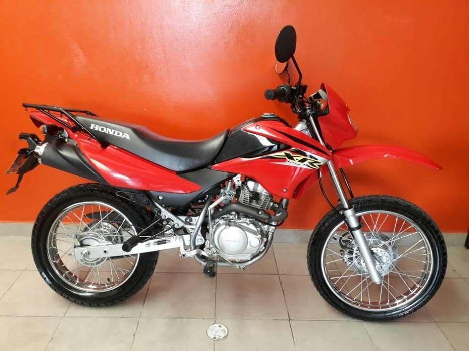 Inamculada Honda Xr 125 Rbo <strong>moto</strong>s/tarjet