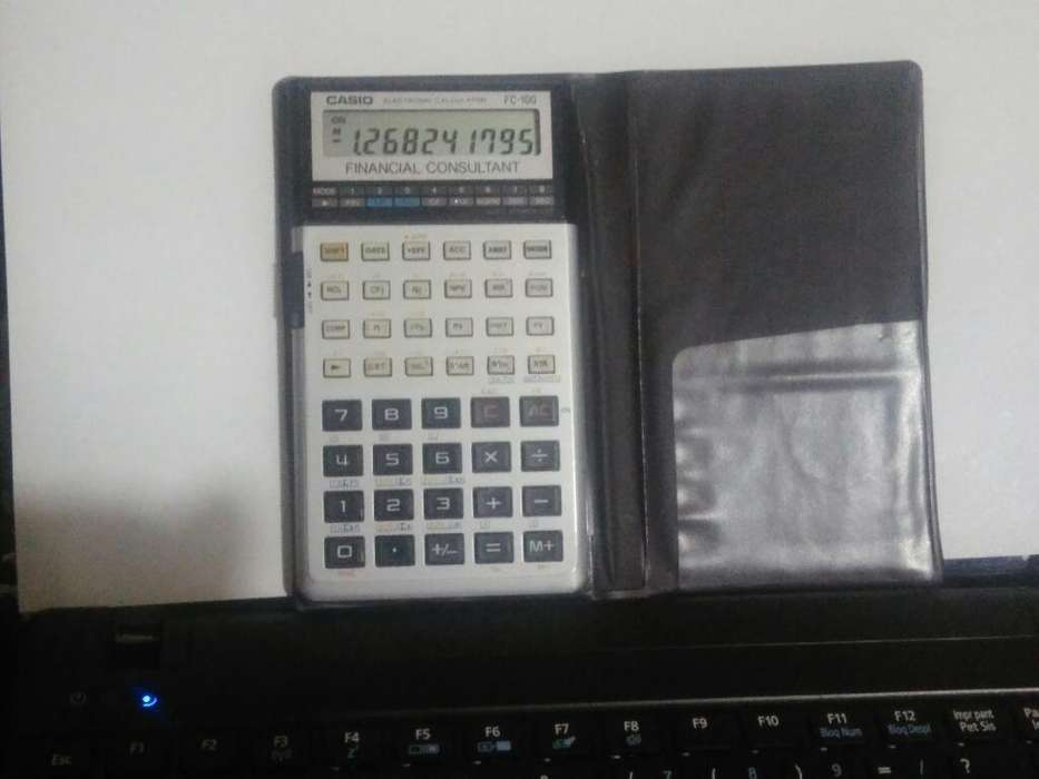 Calculadora Financiera Casio Fc100 Promo