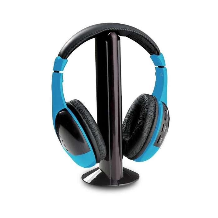 Auricular inalámbrico 3 en 1 Bluetooth Convertidor WIRELESS HEADPHONE HP9686 Panacom