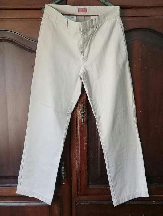 Pantalon Perry Ellis Hombre Talla 32