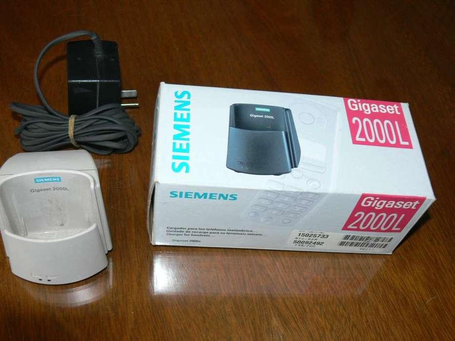 Siemens Gigaset Base Cargadora 2000 L Para Handy 2000 S