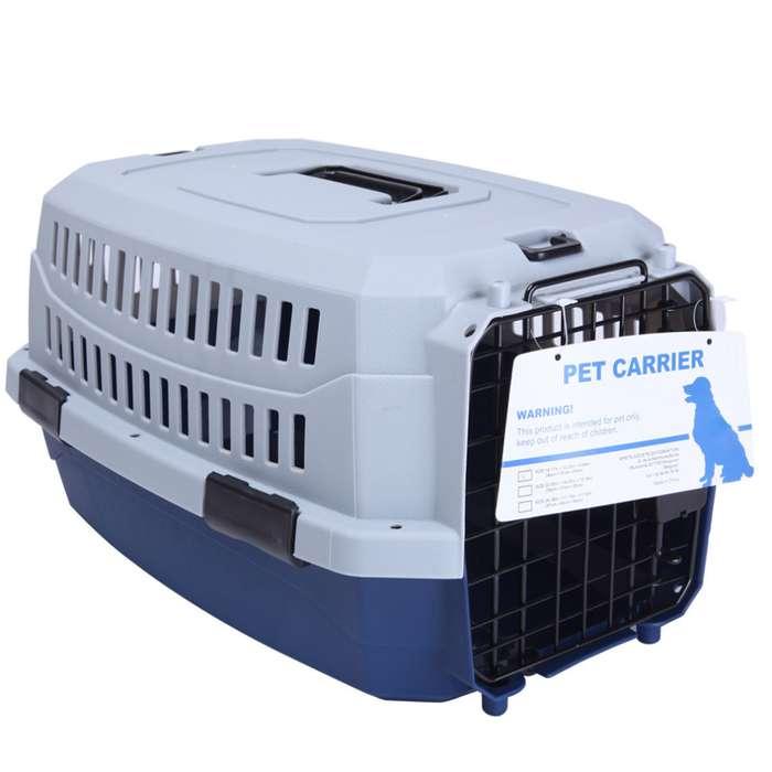 Guacal Jaula De Transporte Perros O Gatos Metálica Talla Xs