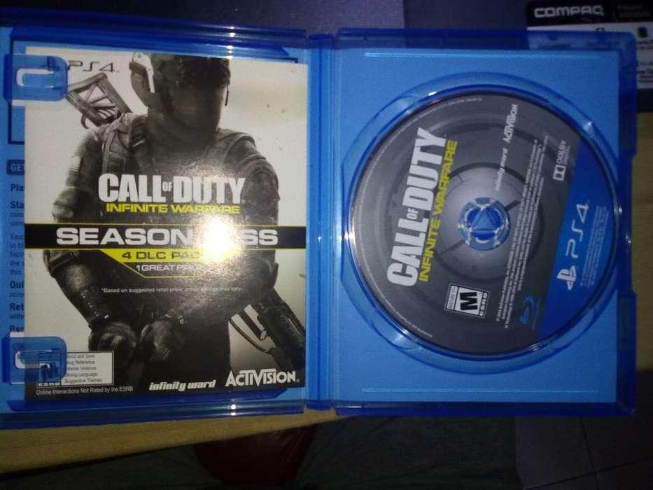 Vendo Call Of Duty Infinite Warfare Ps4
