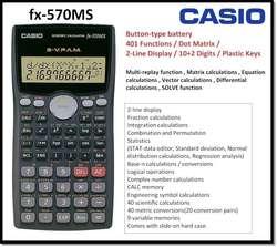 Calculadora Cientifica Casio Fx-570 Ms