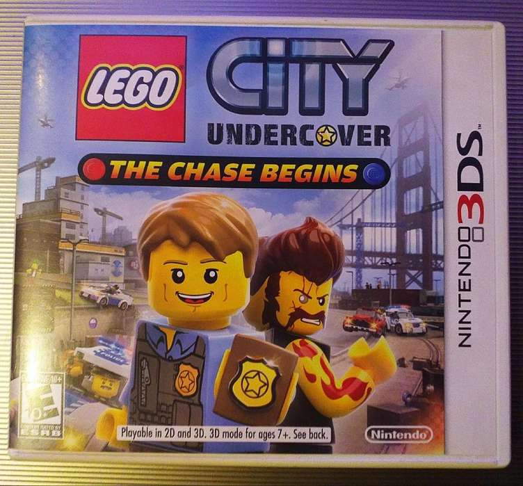 Juegos originales Nintendo 3DS Lego City - Disney Planes