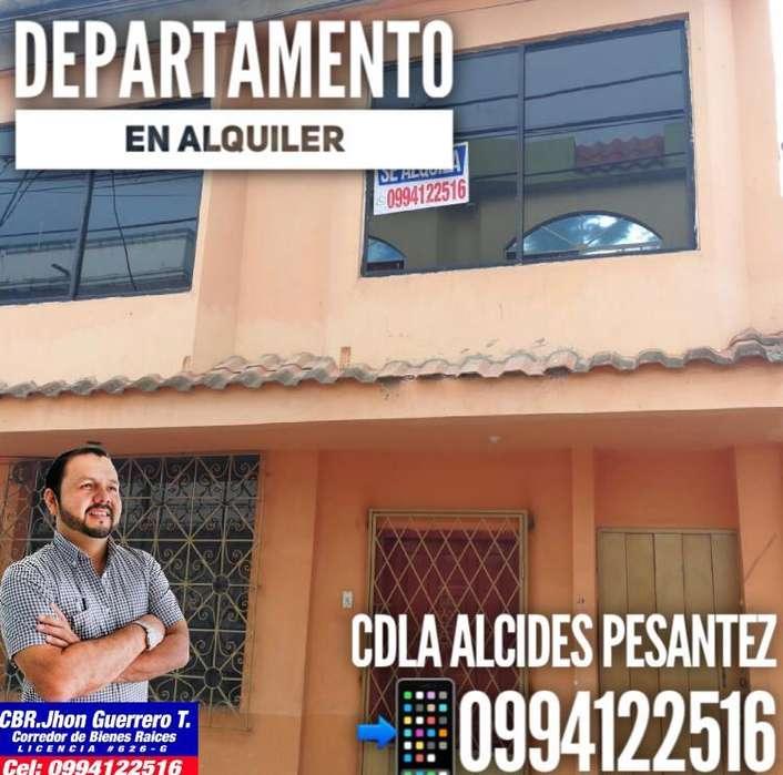 Depar en Alquiler Cdla Alcides Pesantez