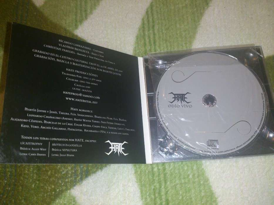 Cd de HATE original
