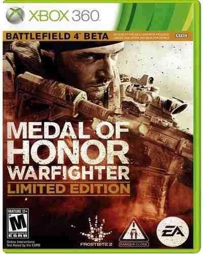 metal of honor warfighter original usado