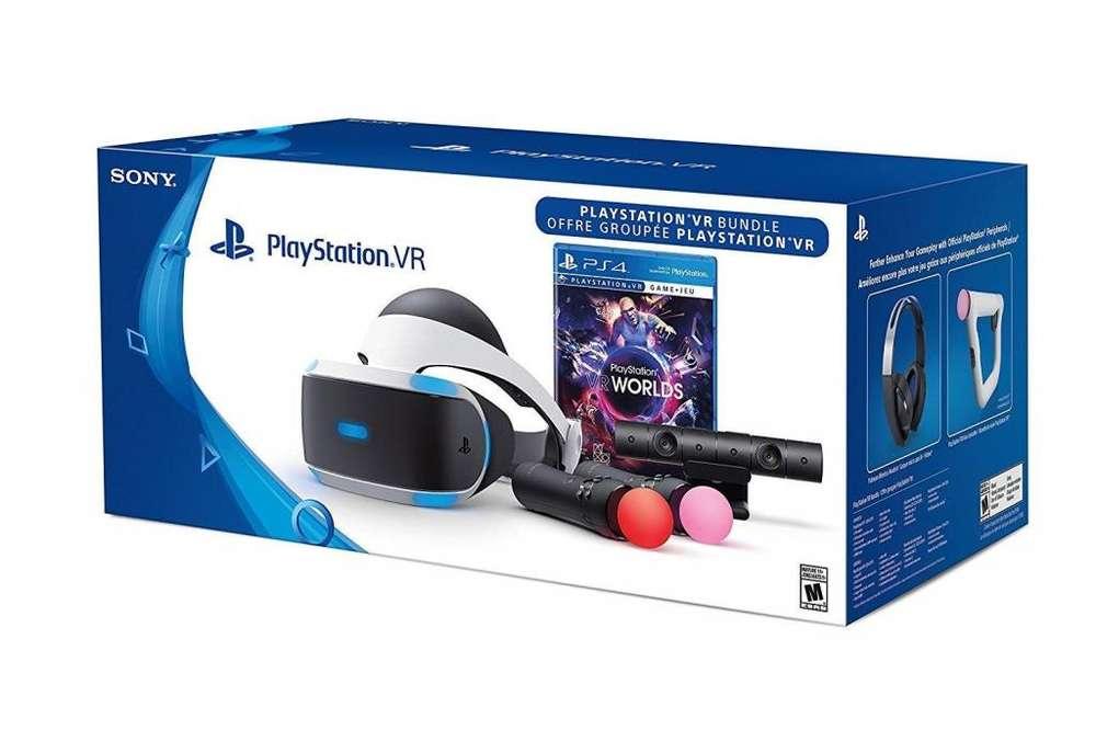 Playstation Vr Gafas Virtuales / Segunda Generación Juego
