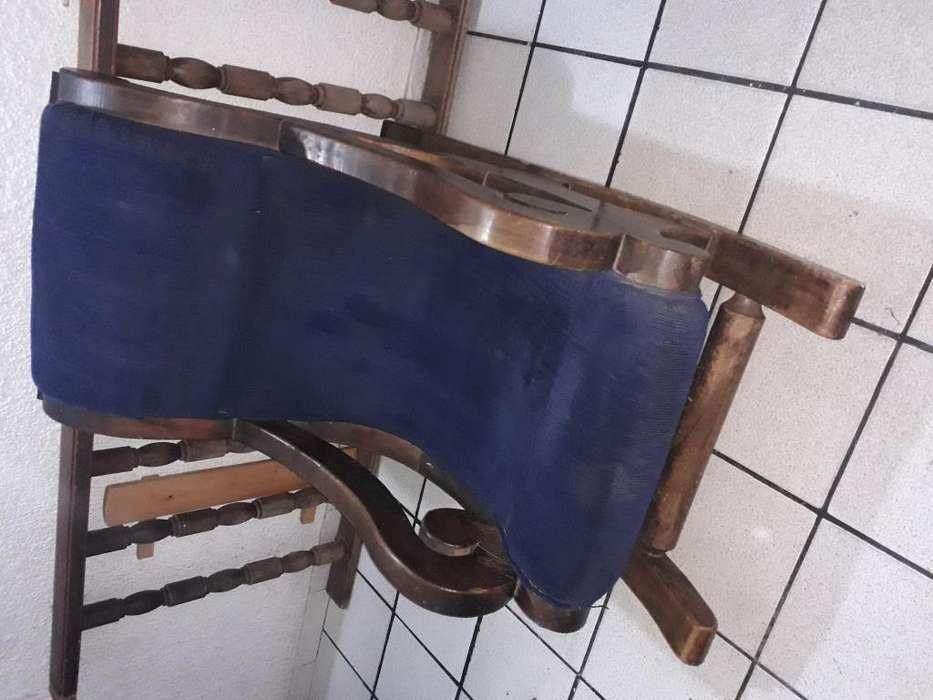 <strong>mecedora</strong> en madera rustica