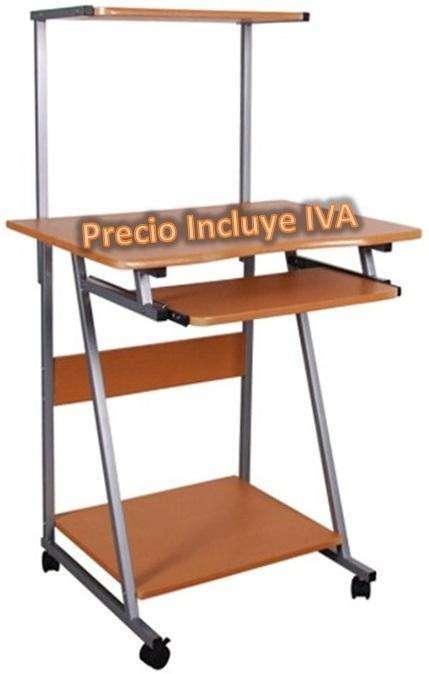 Mesa Escritorio Para Computadora De Tres Niveles Cpu PRECIO INCLUYE IVA