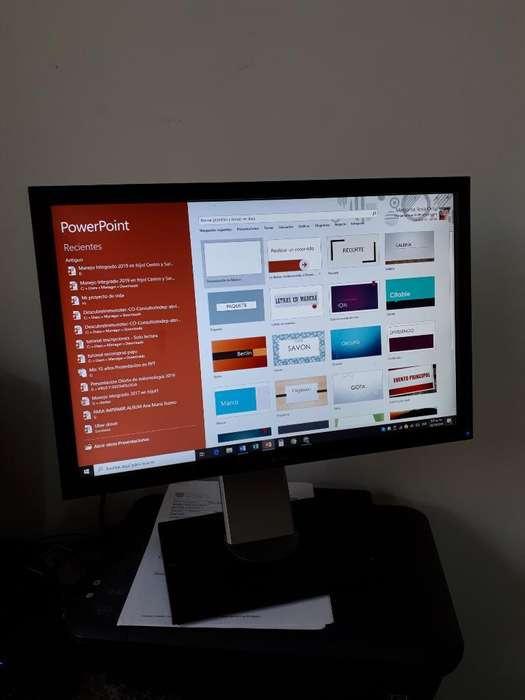 Monitor Marca Dell de 18 Pulgadas