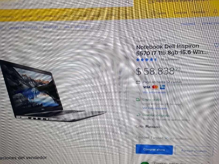 Dell I7 8gb ,placa de Video de 4gb