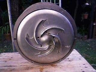 Bomba de acero inoxidable alfa laval 12,5 hp para ind.alimenticia