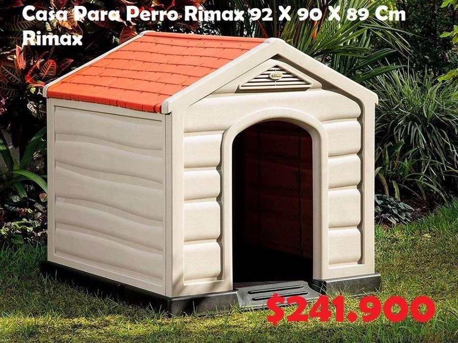 Casa Para Perro Rimax 92 X 90 X 89 Cm ENVIOS A TODO EL PAIS